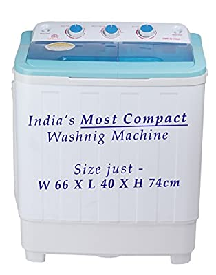 DMR 46-1298S Compact Twin Tub Washing Machine 4.6 Kg Wash capacity 3.5Kg Spin Capacity
