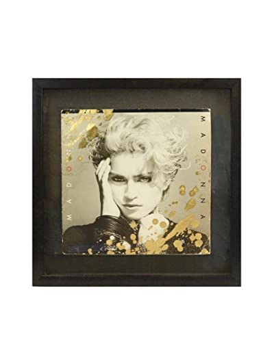 Aviva Stanoff Madonna Self-Titled Cover with Gold Paint