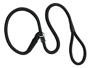 Weaver Leather Rope Slip Lead, 1 2 x 6-Feet, Black by Weaver Leather