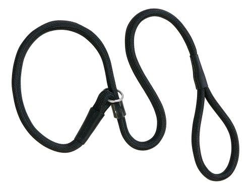 Weaver Leather Rope Slip Lead, 1/2 x 6-Feet, Black