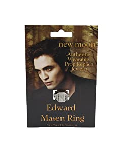 "Twilight ""New Moon"" Prop Replica (Edwards ""Pre-Vampire"" Mason Ring)"