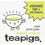 Tea Pigs Organic Matcha Super Power Green Tea 30g (Pack of 2 - 60g)
