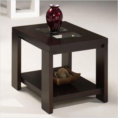 Cheap Hammary T1031520-00 Tempo Rectangular End Table in Medium Cherry (T1031520-00)