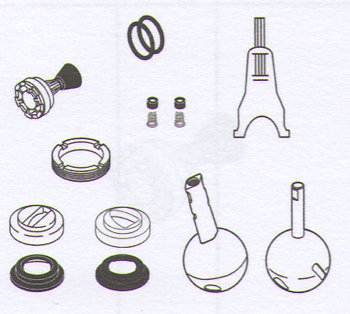 cheap delta faucet company rp2932 repair parts kit for single handle