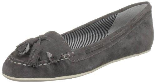 Bertie Women's Lea Grey Boat Shoes 7 UK