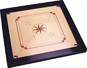 Synco Champion Premium Carrom Board Set
