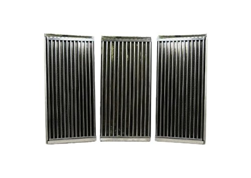 Music City Metals 5S483 Stamped Stainless Steel Cooking Grid Replacement for Select Charbroil and Kenmore Gas Grill Models, Set of 3