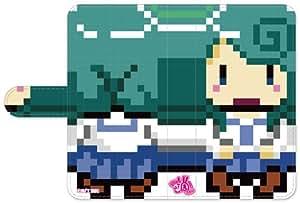 『浦和の調ちゃん』手帳型AndroidケースS-kao_midori(対象スマホサイズ:67.5 x 133mm以内)