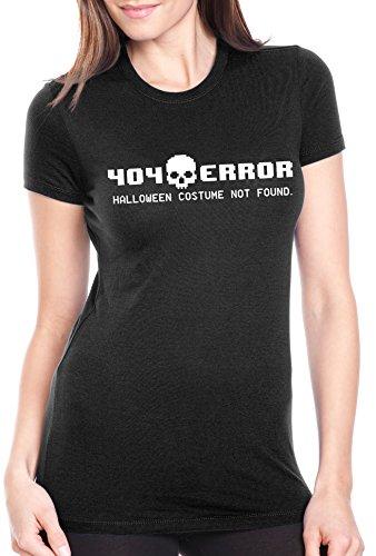 [Women's 404 Error Costume Not Found T Shirt Funny Halloween Tee For Women S] (Best Internet Meme Costumes)