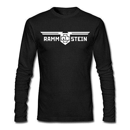 Rammstein Hard Rock Tee XXL Black For Men 100% Cotton (Georgia Football Tickets compare prices)