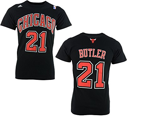 Jimmy Butler Chicago Bulls Black Jersey Name and Number T-Shirt