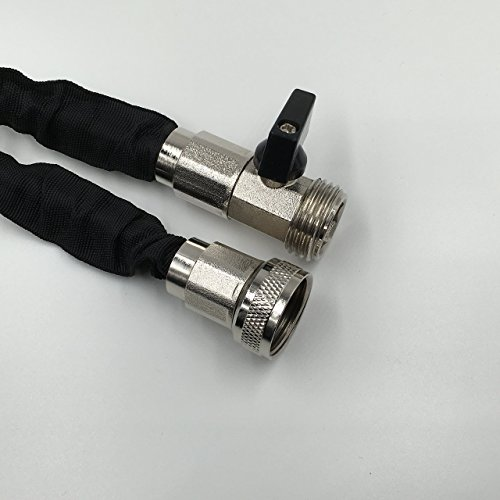 Durark feet expandable hose with brass fittings and