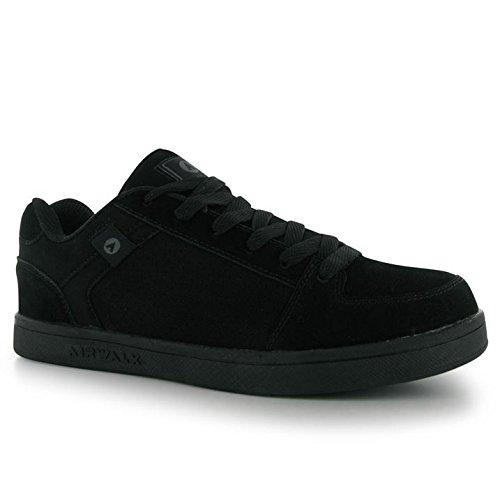 airwalk-kids-brock-junior-skate-shoes-boys-lace-up-sport-casual-trainers-black-uk-6