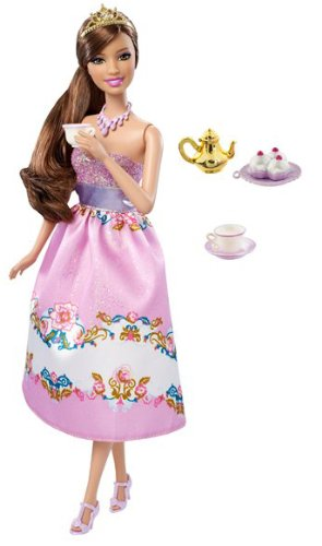 barbie princess teresa	doll party to