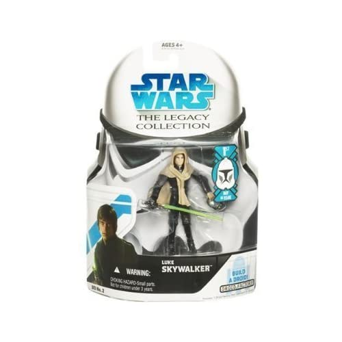 Star Wars Legacy Collection Luke Skywalker 1st Day of Issue by Hasbro