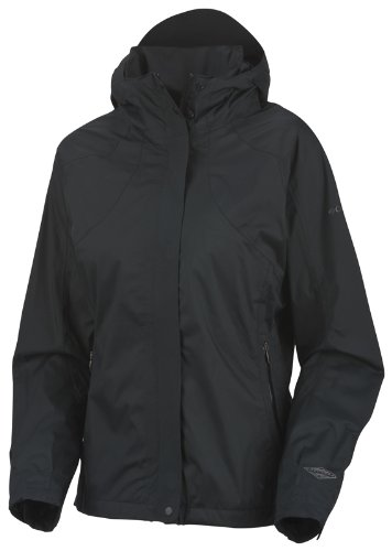 Columbia Women's Backpacking Beauty Omni-Tech Jacket - Black, X-Large