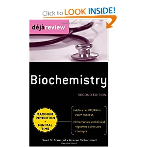 Deja Review Biochemistry, Second Edition Saad Manzoul and Hussan Mohammed
