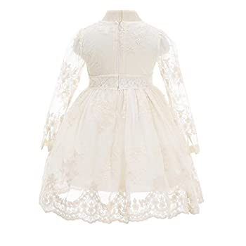 Bow Dream Flower Girl Dress Vintage Lace