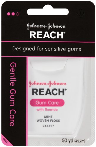 Reach Gentle Gum Care Fluoride Mint Floss, 50