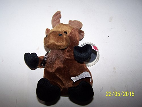 Coca-Cola Bean Bag Plush Gourmand the Moose representing Canada - 1