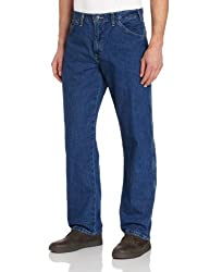 Dickies Mens Relaxed Straight Fit Carpenter Jean, Indigo Blue, 42x30