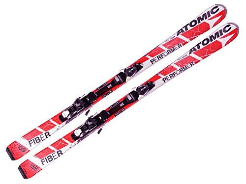 Atomic sci Race Performer Fiber Red ETL + attacchi EZYTRAK 10-2015-171cm