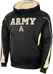 Buy Army Black Knights Black Renegade Poly Hoody by Colosseum by Colosseum