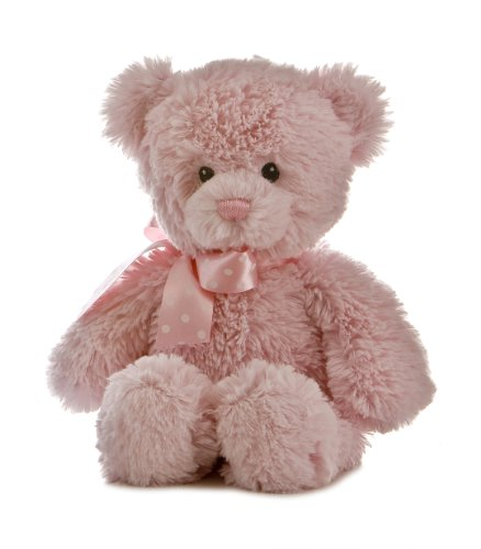 "Plush Baby 12"" Yummy Pink Bear"