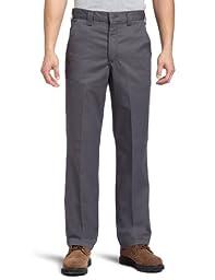 Carhartt Men's Blended Twill Work Chino,Dark Grey,36 x 34