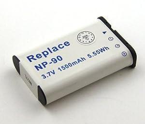 Batterie compatible pour Casio Exilim EX-FH100, EX-FH100BK, EX-H10, EX-H15, EX-H20G, EX-H20GBK, EX-H20GSR