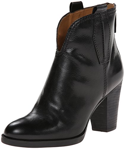 Nine West Women'S Cally Leather Boot, Black, 7 M Us