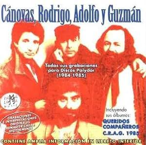 Canovas Rodrigo Adolfo Y Guzman - Todas Sus Grabaciones Para Discos
