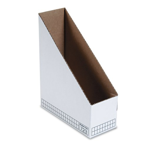 Fellowes Bankers Box Stor/File White Magazine File 12 Pack (10723)