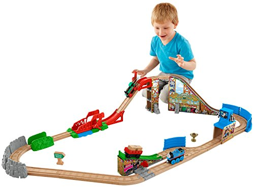Fisher-Price-Thomas-the-Train-Wooden-Railway-Race-Day-Relay-Set