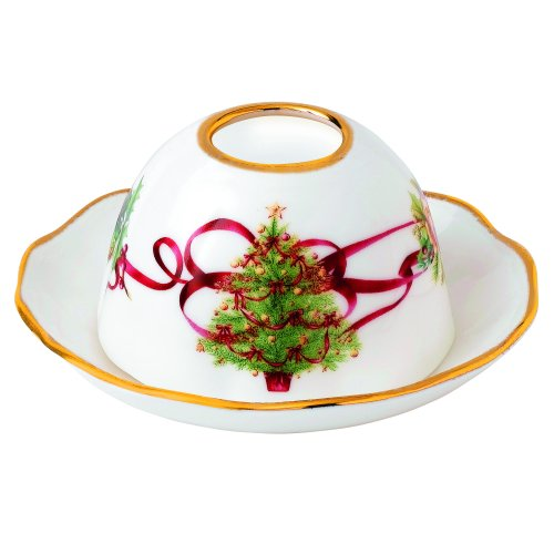 Royal Albert by Royal Doulton Old Country Roses Christmas Tree Tealight Holder (Old Country Roses Teapot compare prices)