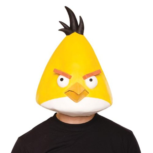 Yellow Bird Mask Costume Accessory - 1