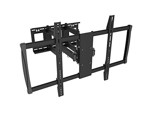 Black Full-Motion Tilt/Swivel Wall Mount Bracket for LG 60LB6300 60