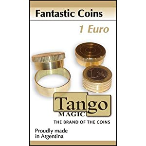 MMS Fantastic Coins (1 Euro with DVD) by Tango - Trick (B0015)