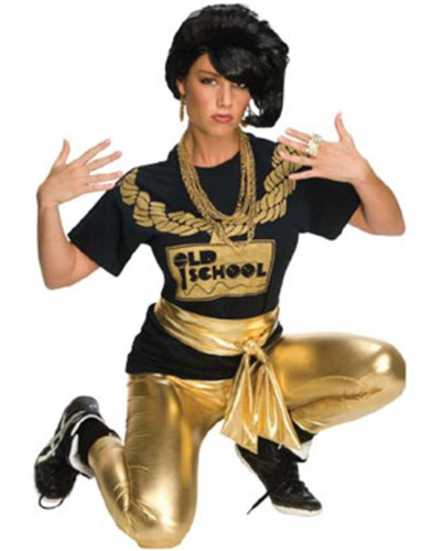 Rubie's Costume Gold Lame Leggings