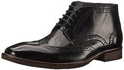 Steve Madden Men\'s Parcell Boot, Black, 9.5 M US