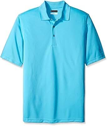 Pga tour men 39 s big tall golf air flux short sleeve polo for Large tall golf shirts
