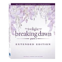 The Twilight Saga: Breaking Dawn - Part 1 (Extended Edition) [Blu-ray + Digital Copy + UltraViolet]