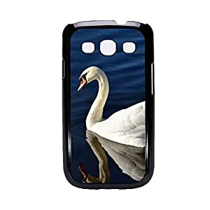 Vibhar printed case back cover for Samsung Galaxy Grand Swan
