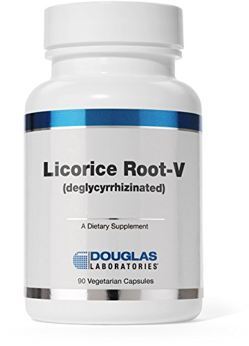 Douglas Laboratories® - Licorice Root-V (Deglycyrrhizinated) - Supports Gastrointestinal System, Soothes and Coats the Stomach and Throat* - 90 Caps