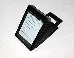"""S & L IMP Classic Kindle Touch/Touch 3G Leather Case (Black) for 6"""" Kindle Wi-Fi Without Keyboard + Screen Protector"""