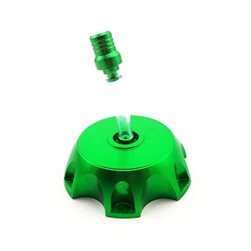 TC-Motor Green Petrol Gas Fuel Tank Cap Cover For Chinese Pit Dirt Bike Motorcycle XR CRF 50 SSR Thumpstar KLX Lifan YX 50cc-160cc (Motorcycle Gas Tank Cover compare prices)