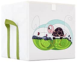 HAPI design Turtle Foldable Storage Box with Side Handlers