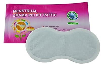 Women Menstrual Cramp Relief Plaster Health Care Body Warm Patch Feminine Hygiene Product,6Count