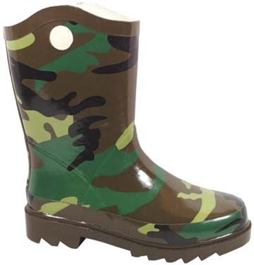 Smoky Mountain Childs Camo Rubber Boot