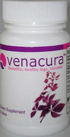Venacura Beautiful Healthy Legs Naturally 60 Tabs Stop Spider Veins
